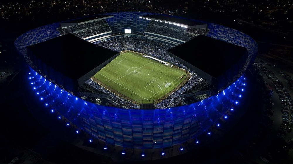 Cuauhtemoc Stadium.  Puebla, Mexico