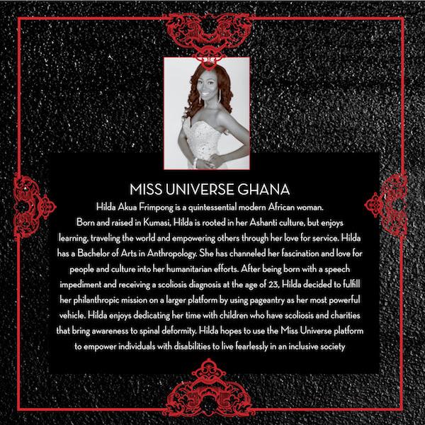 Hilda Akua Frimpong - Miss Universe Ghana