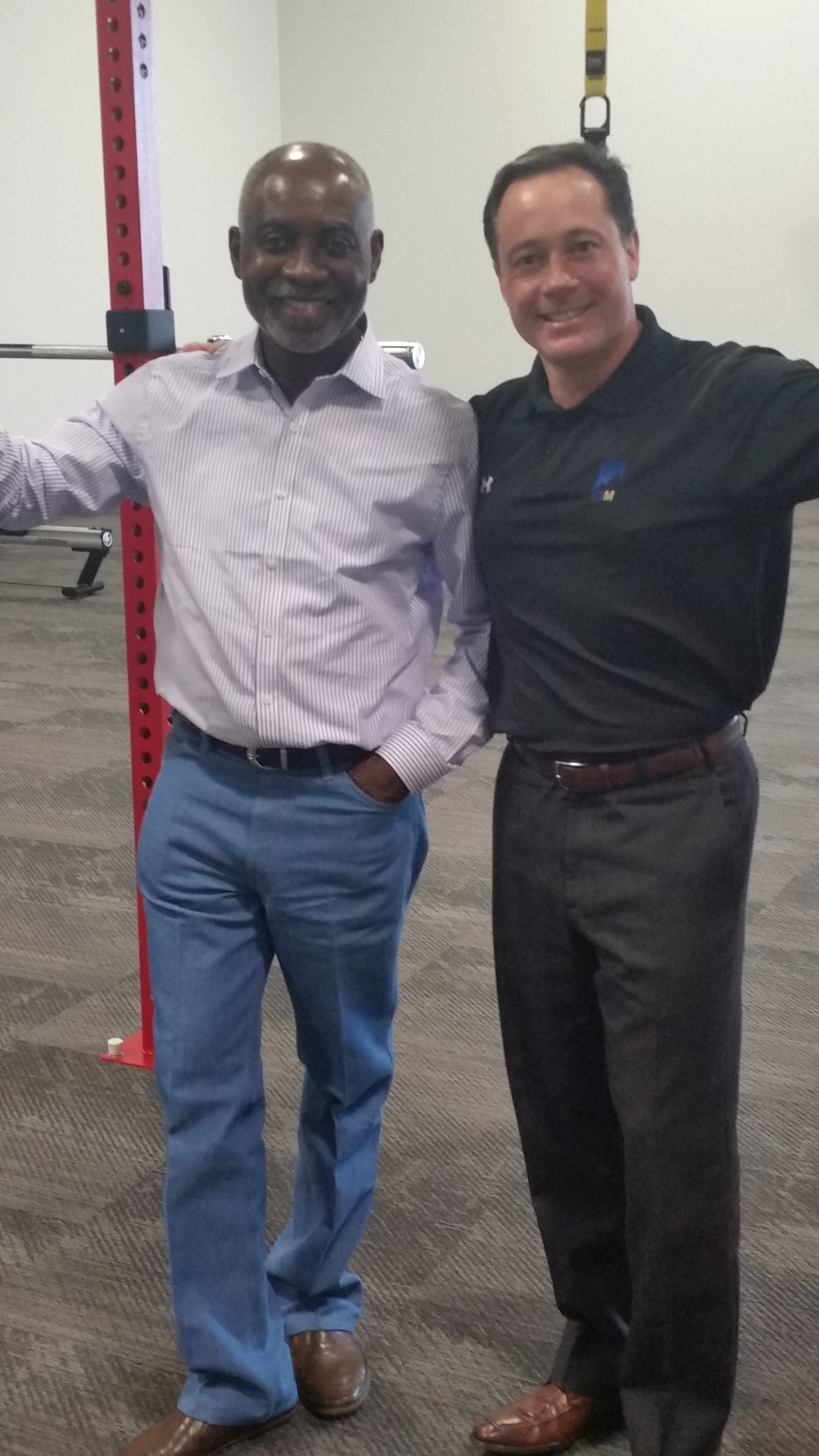 Professor Boachie-Adjei and K2M CEO Mr. Eric Major
