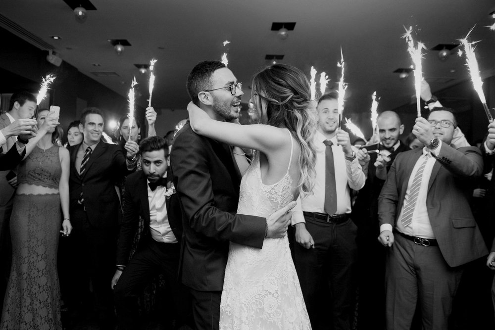 Reception and party photos in Montreal, Quebec