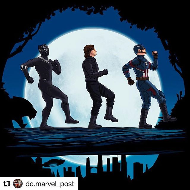😂😂😂Hakuna Wakanda!!! Absolutely love this! Well done Mike Lopez @deviantart Wish there was a print version for sale?! . . . #hakunawakanda #deviantart #thelionking #cap #bucky #tchalla #threebestfriendsthatanyonecouldhave