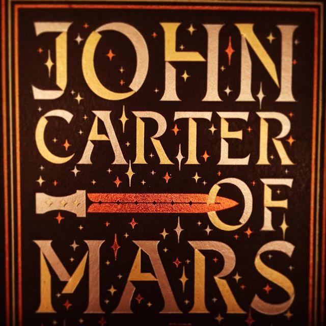 Some nights, you just want to go jumping around Mars pretending it's Summer again. . . . #latenightreading #edgarriceburroughs #johncarter #aprincessofmars  #barsoom