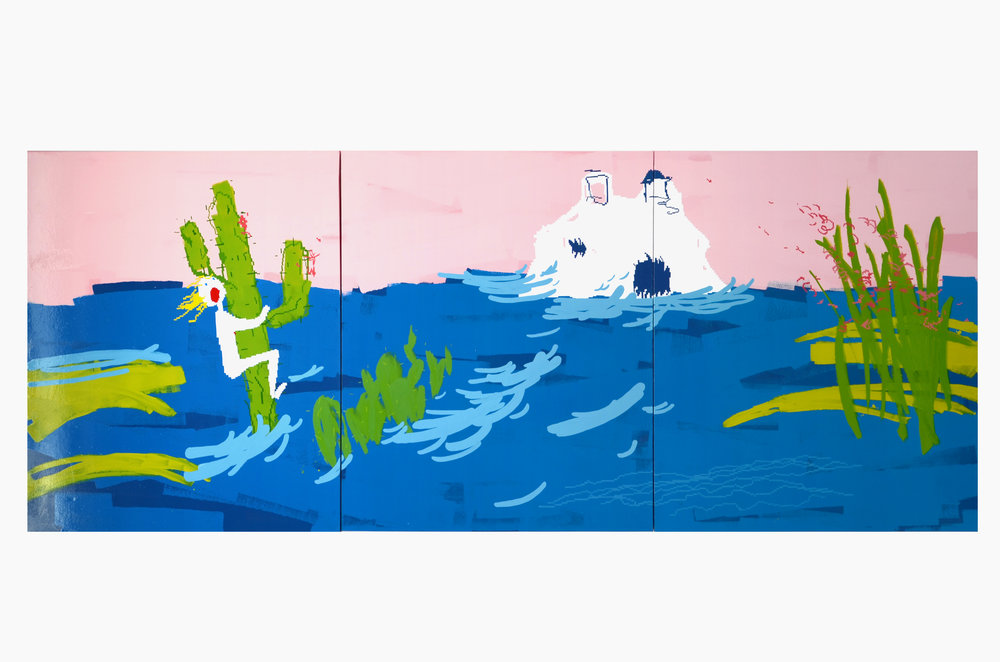 Maja Djordjevic_I don't know you, but I love you (triptych)_Oil on canvas_not confirmed_2015.jpg