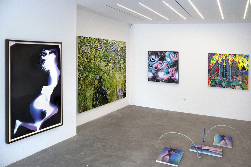 3.Installation shot_Dancing Goddesses_Natassa Papadopoulou_Alex Ruthner_Kenny Scharf_Erik Parker_Rallou Panagiotou.jpg