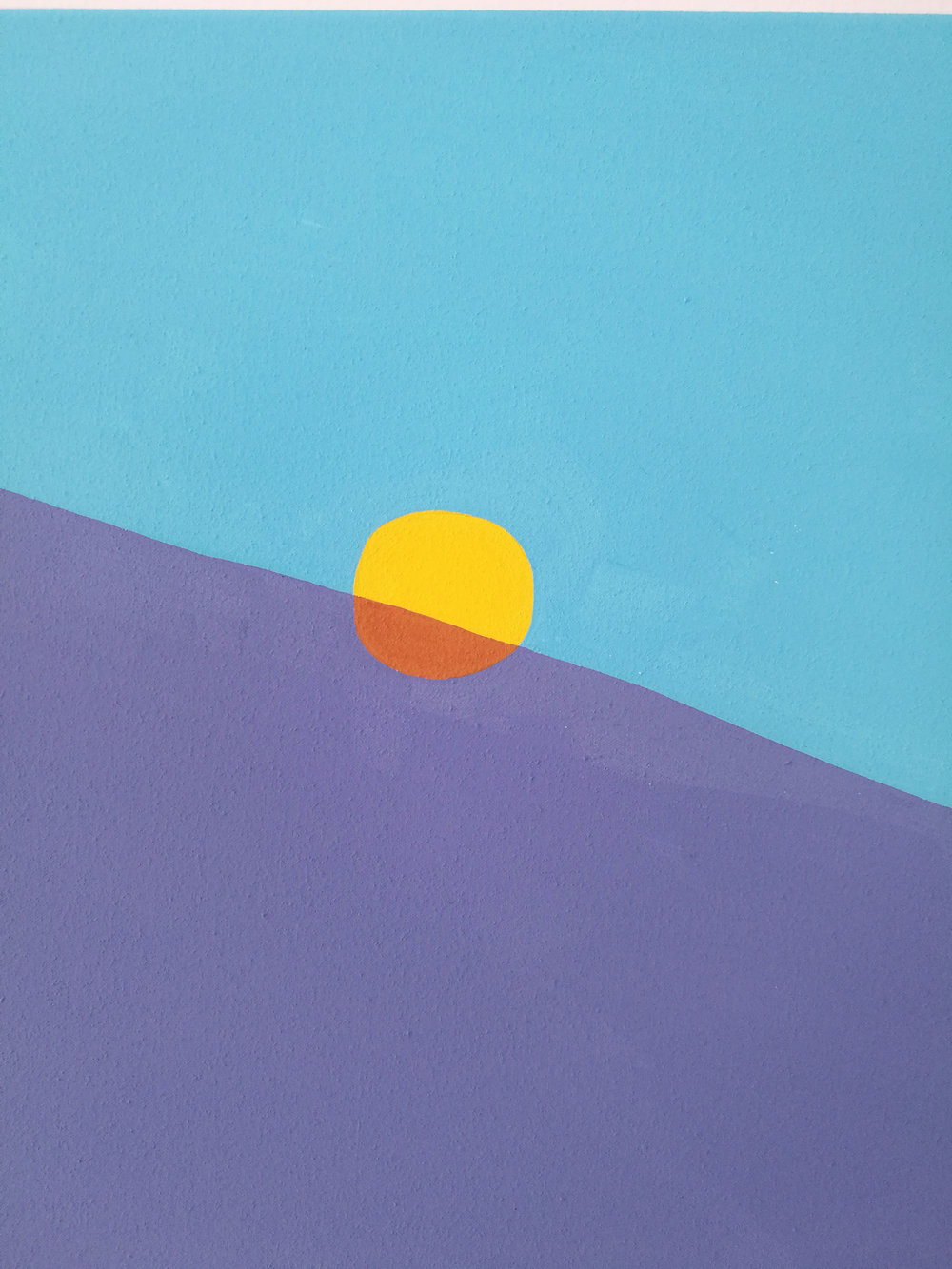 Peter McDonald_Sun 2_Acrylic gouache on canvas_50x40cm_2018_detailshot copy.jpg