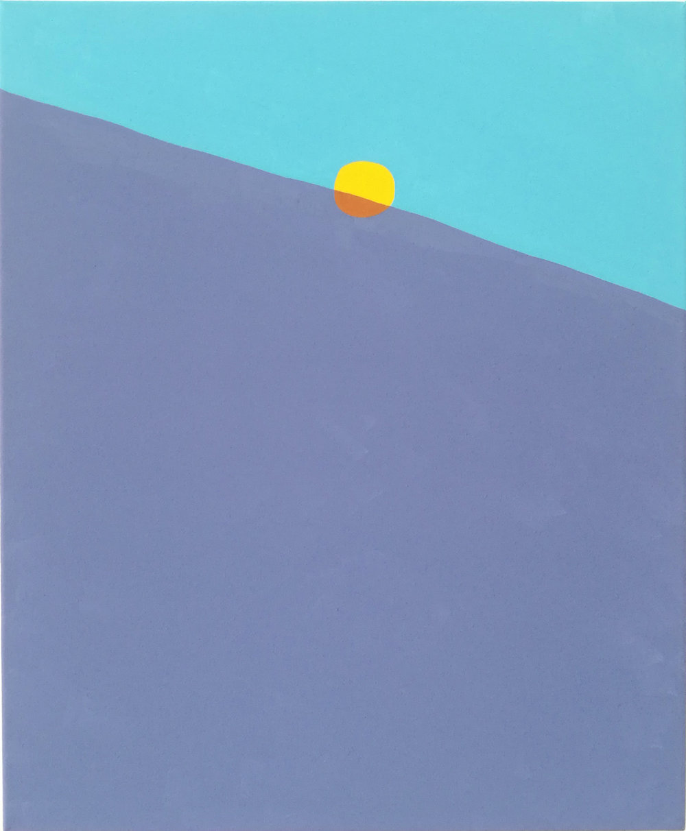 Peter McDonald_Sun 2_Acrylic gouache on canvas_50x40cm_2018.jpg