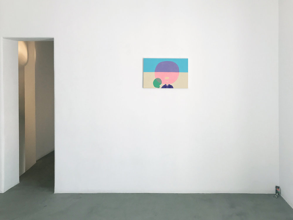 Peter McDonald_Pink Emerald, Mykonos Gallery_2018_installation shot.jpg