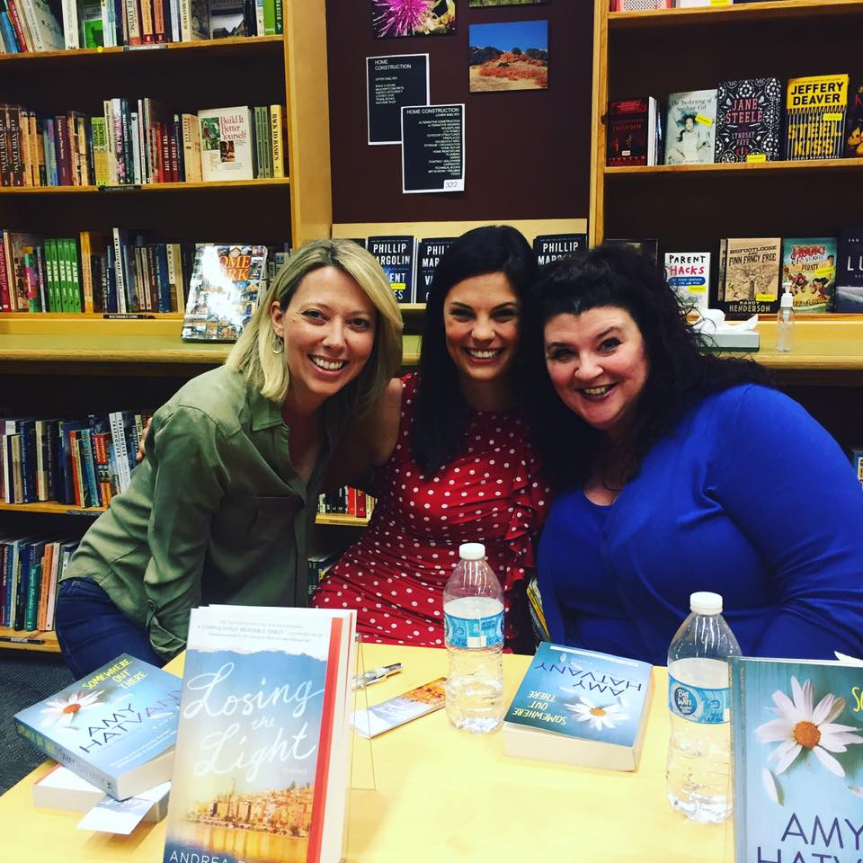 With Amy and local Portland author Nicole Meier