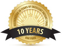 Celebrating 10 Years of Excellent Patient Care in Oak Park