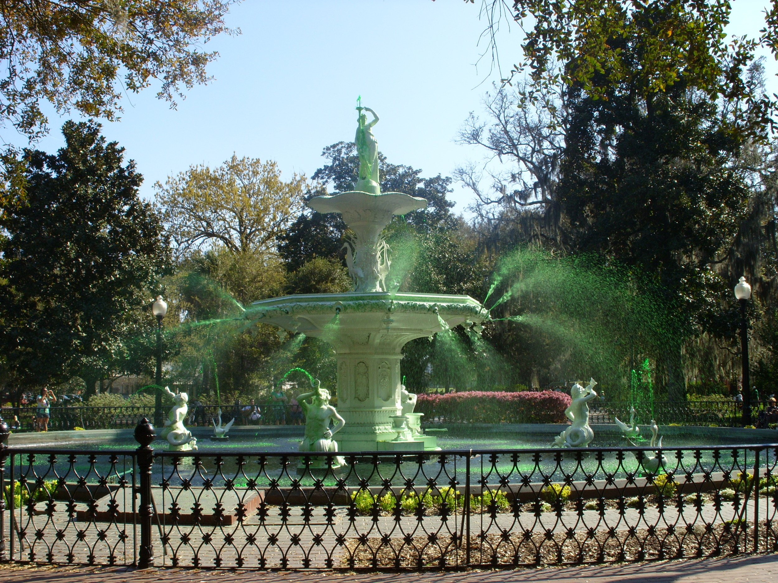 Forsyth Park fountain, Savannah, GA