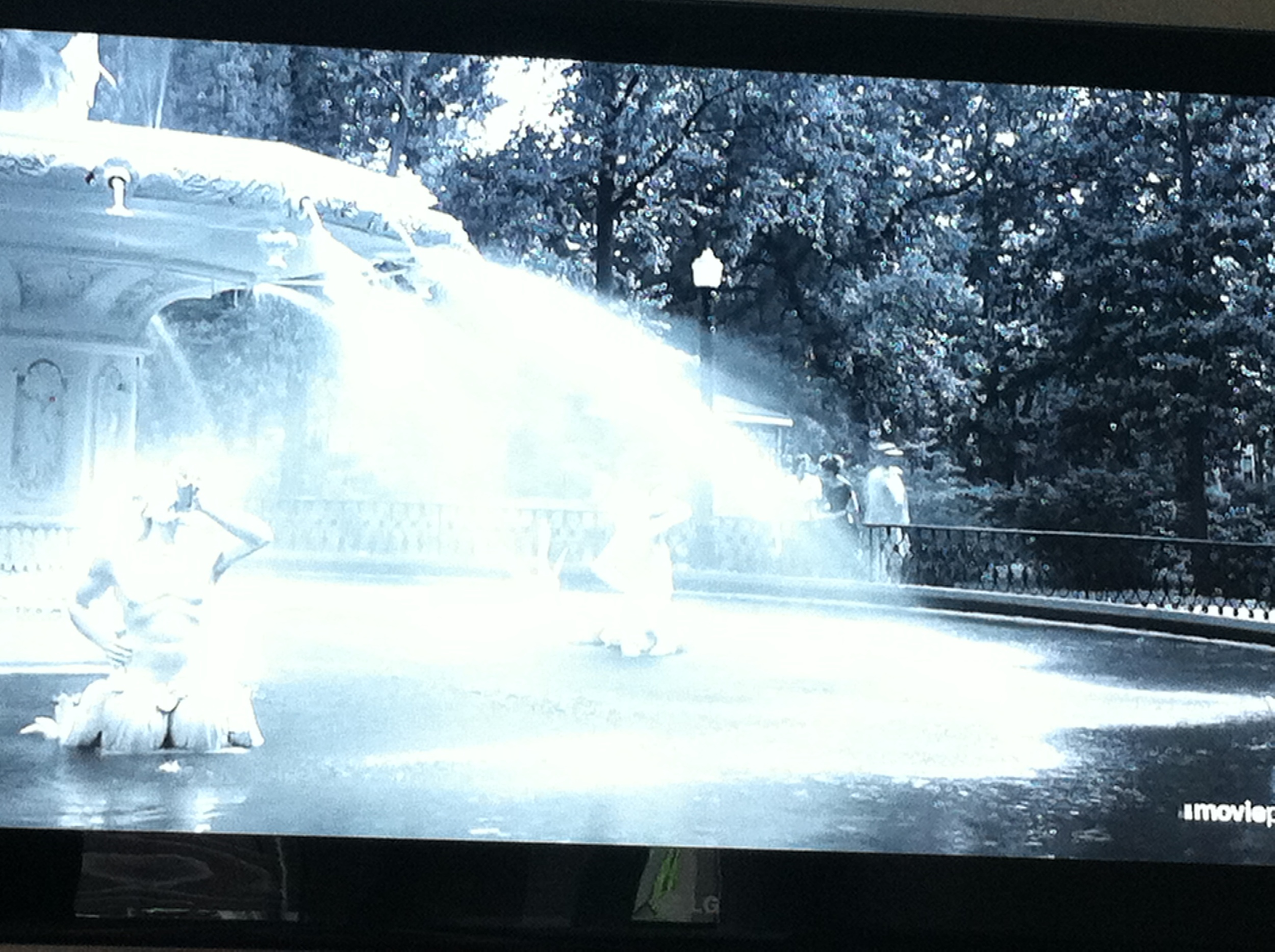 Forsyth Park, fountain, Savannah, Cape Fear, 1962