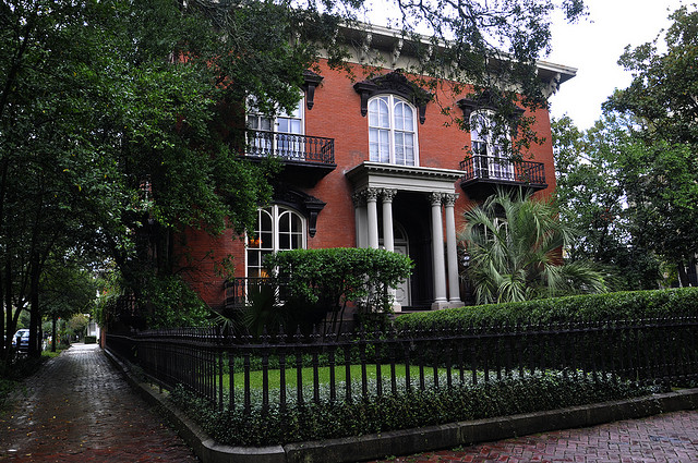 Pictures of mercer house savannah ga