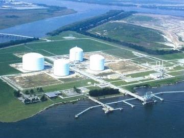 Savannah, GA, Bonnie Blue Tours, Elba Island, LNG