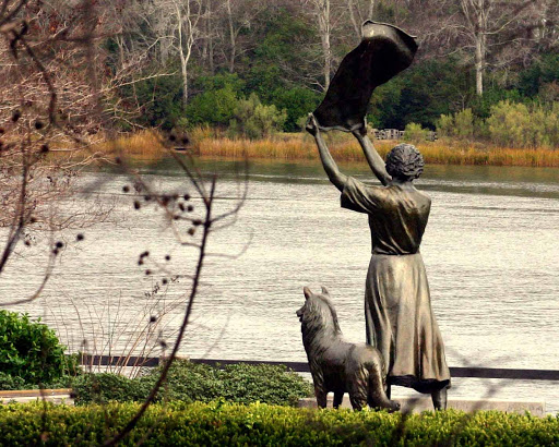 savannah, ga, bonnie blue tours, waving girl statue, morel park, savannah river, river street