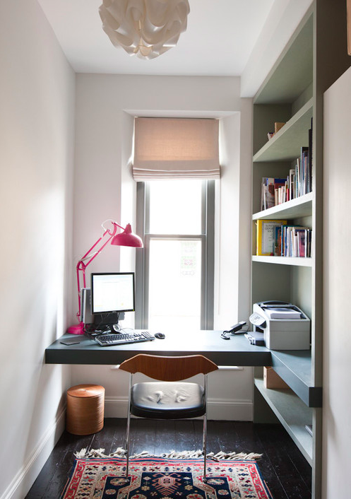 Photo by Moon Design + Build - More home office photos