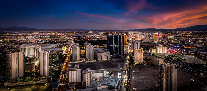 View of Las Vegas from the Stratosphere