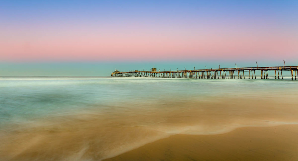 Imperial Beach Pier at Sunrise