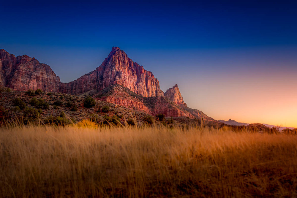The Watchman After Sunset
