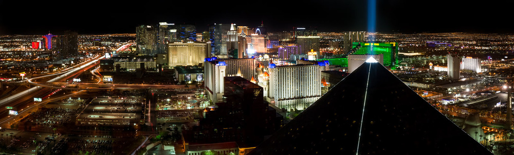 The Las Vegas Strip from Delano