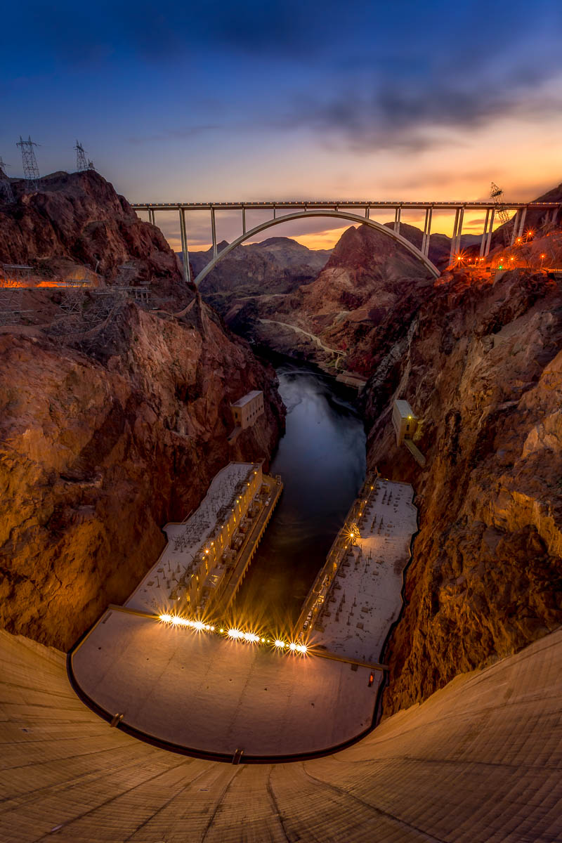 Hoover Dam and Bypass Bridge