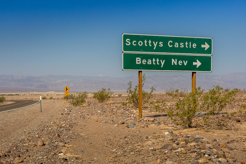 To Scotty's Castle