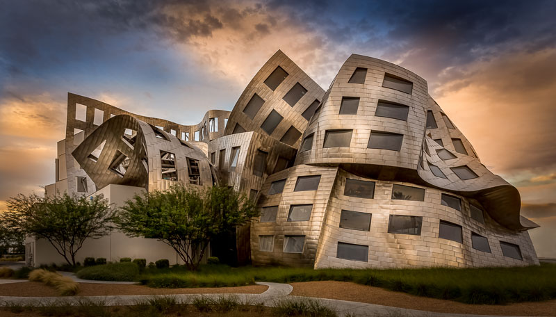 Architecture by Frank Gehry