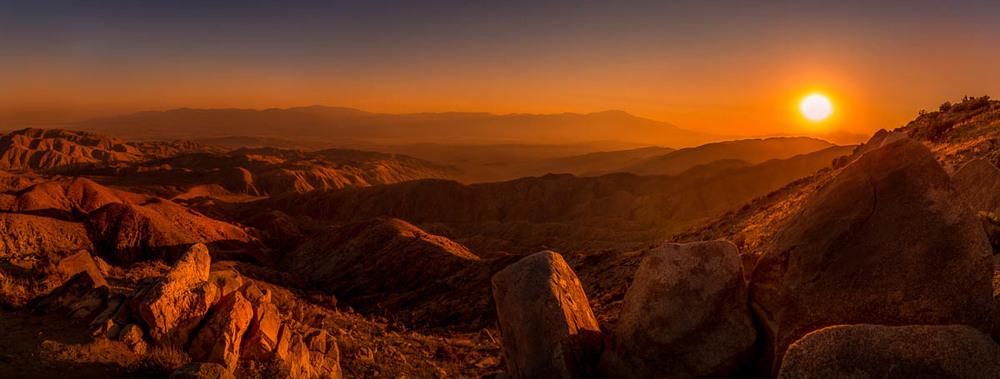Martian Sunset in California