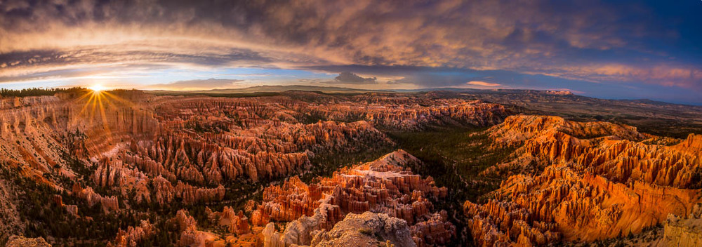Bryce Point Sunset - This one scored 92.5.