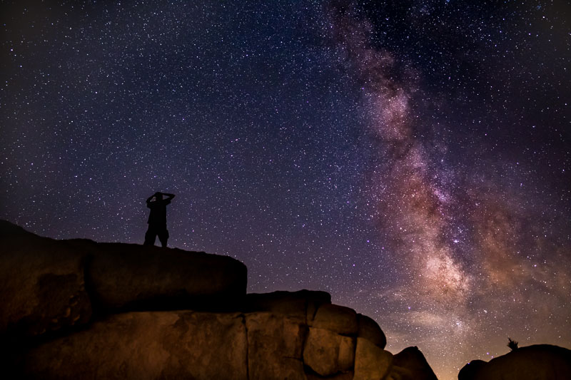 Amazing Milky Way, Joshua Tree National Park