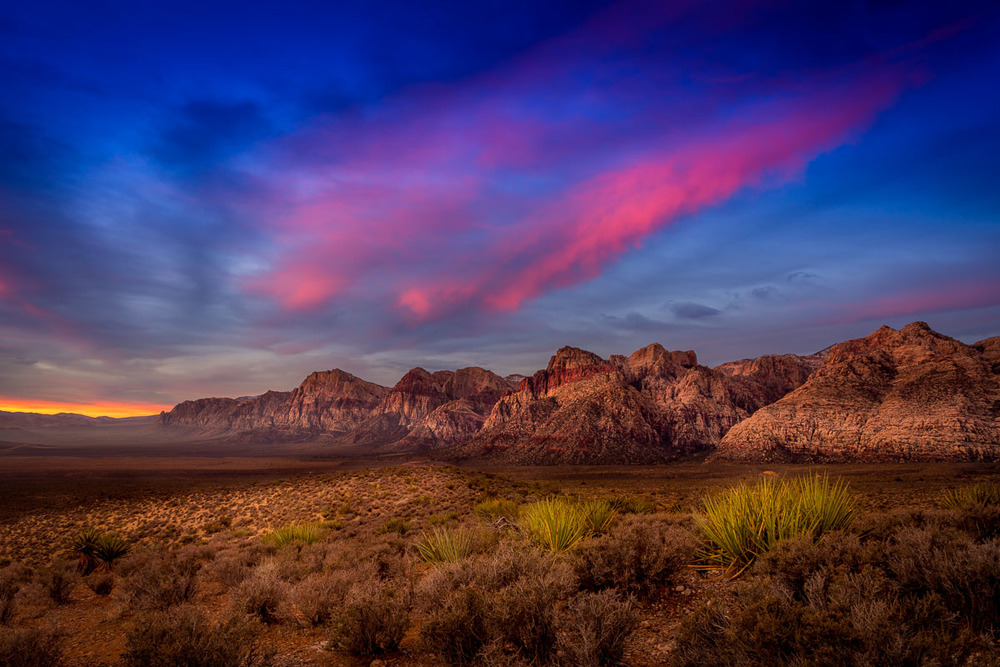 Fiery Sky at Red Rock