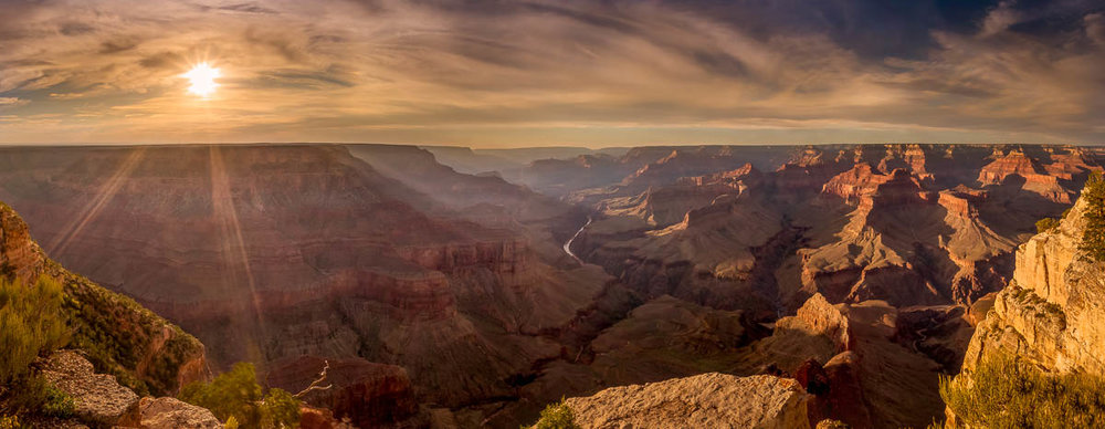 Pima Point Panorama, Grand Canyon National Park