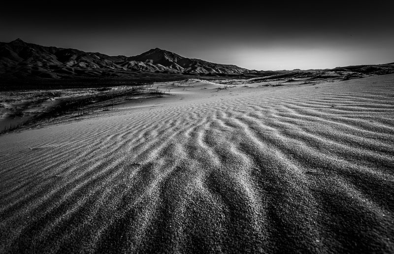 The Sands of Kelso Dunes, Mojave National Preserve