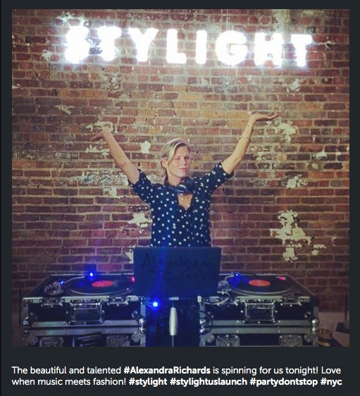 Stylight Instagram Takeover for NY Launch Event