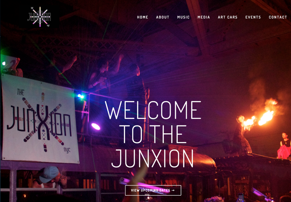 Photographer for the Event Crew, The JunXion - images featured on site
