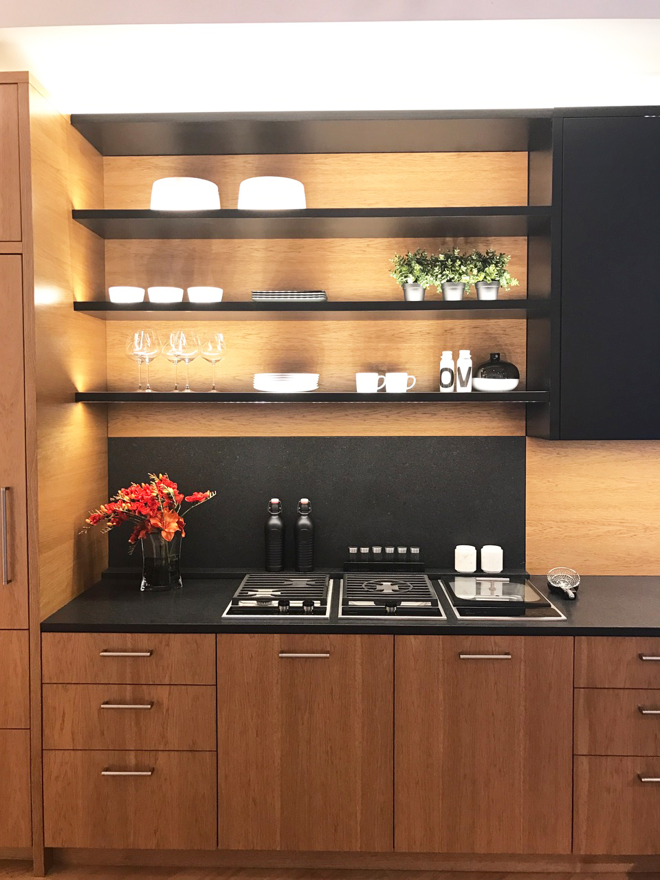 ... High Contrast Kitchen. We Always Recommend Working With A Designer Or A  Professional Like The Consultants At Fretz To Be Sure That You Havenu0027t ...