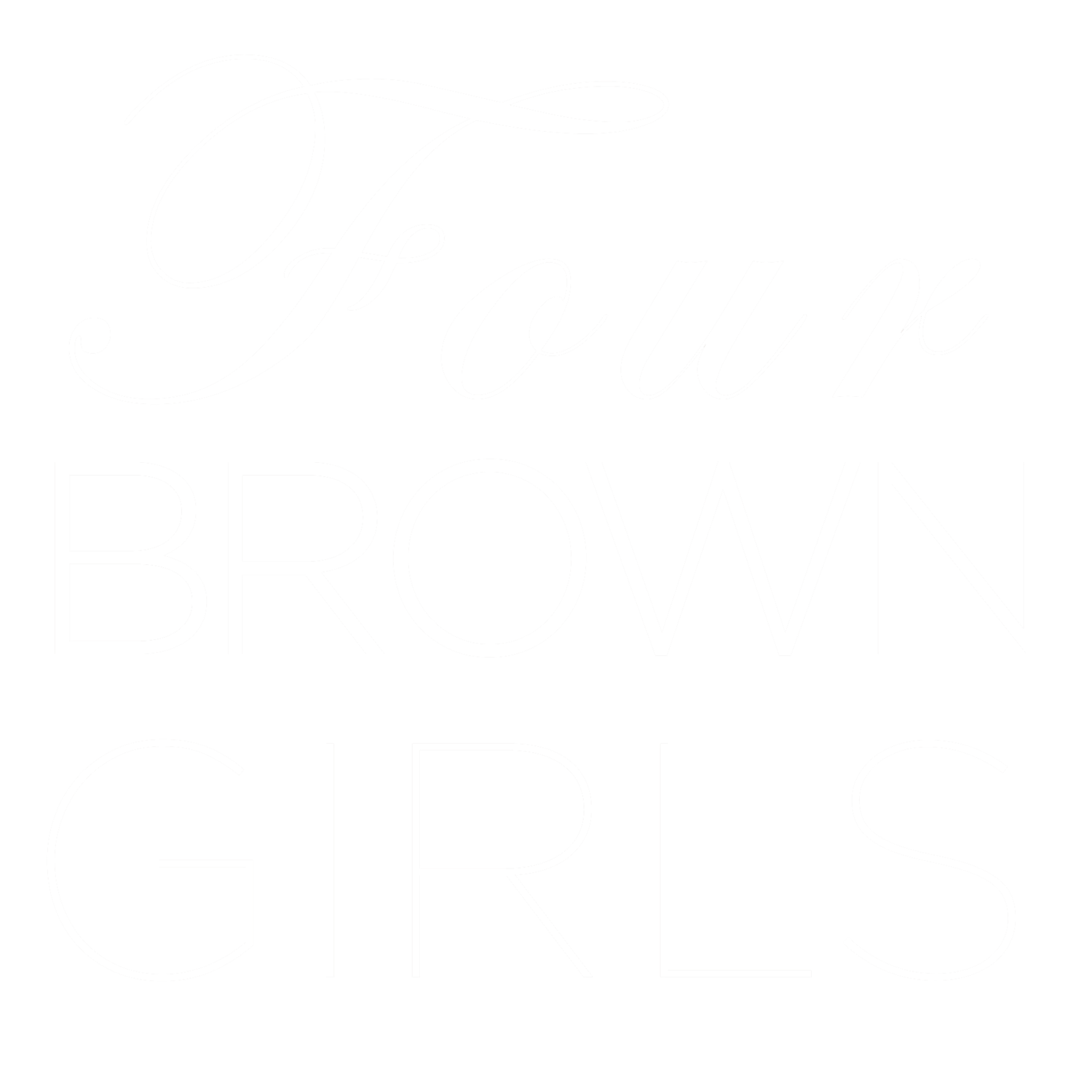 FOUR BROWN GIRLS