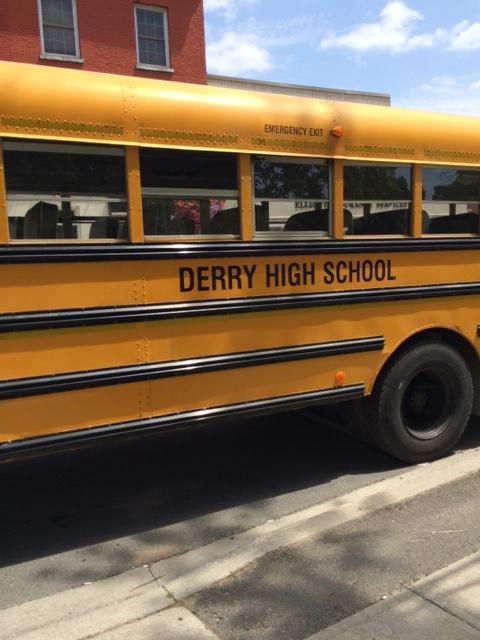 Derry High School Bus