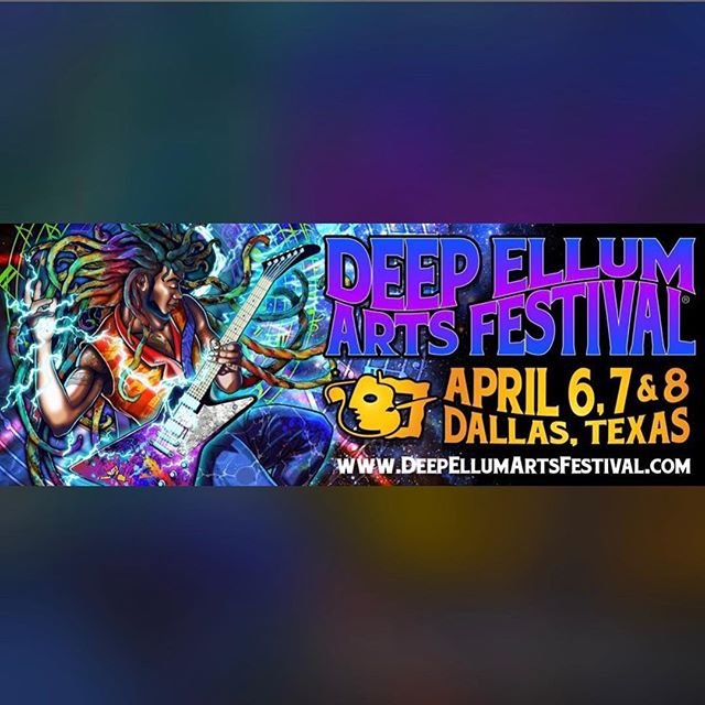 It's about that time of year! Looking forward to rocking the stage at the #deepellumartsfestival this year with our homeboys @loyalsally! Effinays go on at 8:40pm on Sat, 4/7!
