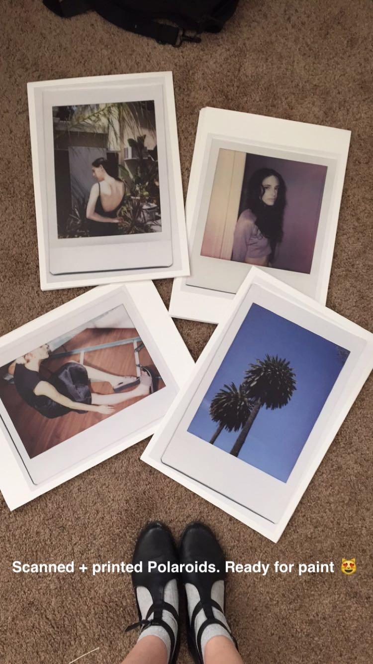 polaroids by erika astrid