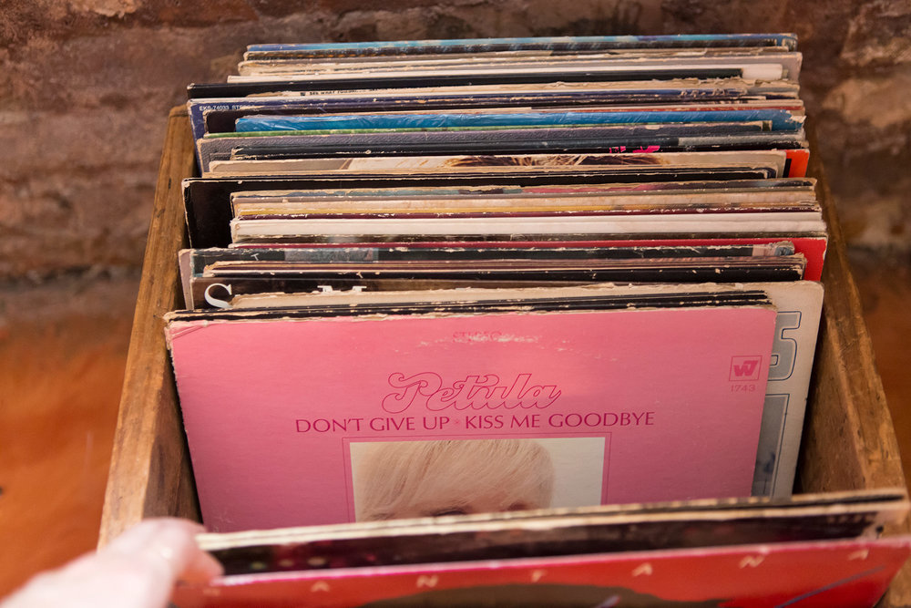 Vinyl curated by Nicole Alyse, owner of American Gypsy Vintage.
