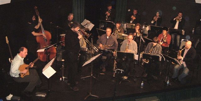 the East Van Jazz Orchestra (EVJO) 2007