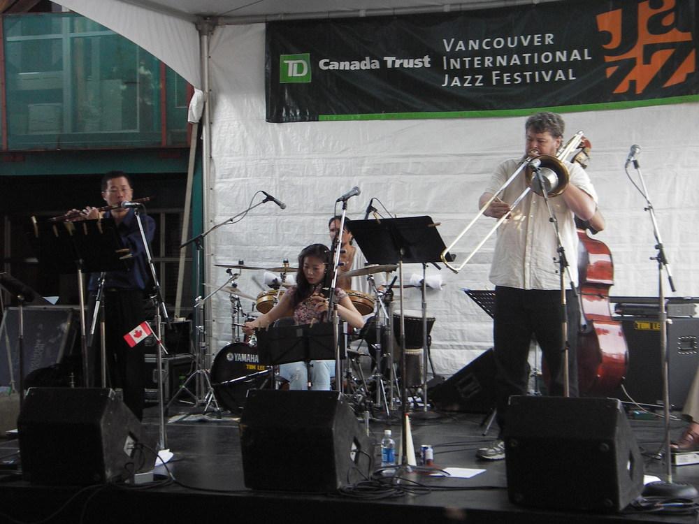 Koan @ Vancouver Jazz Festival 2008   photo: Gladys Muirhead
