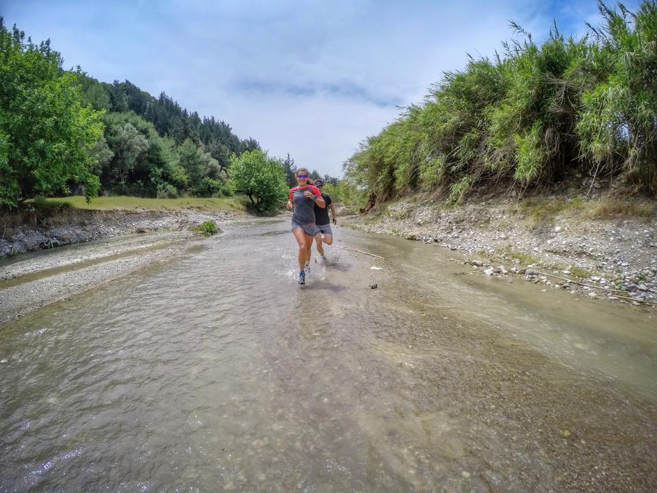 Our new adventure trail down a river in Faliraki, Rhodes