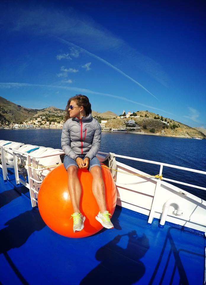 At the Ferry between Rhodes and Kos