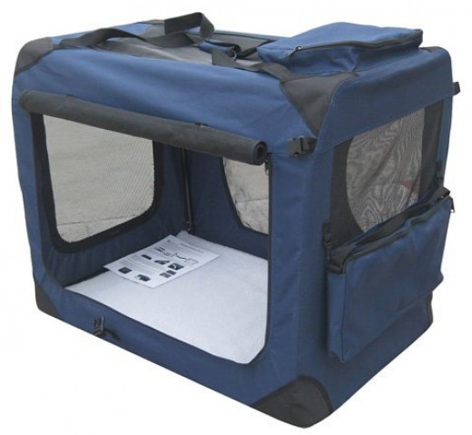 Collapsible Fabric/Mesh Crate