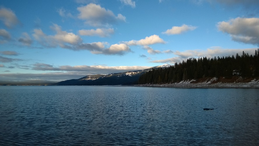 Lake Almanor, on a recent early-winter day.