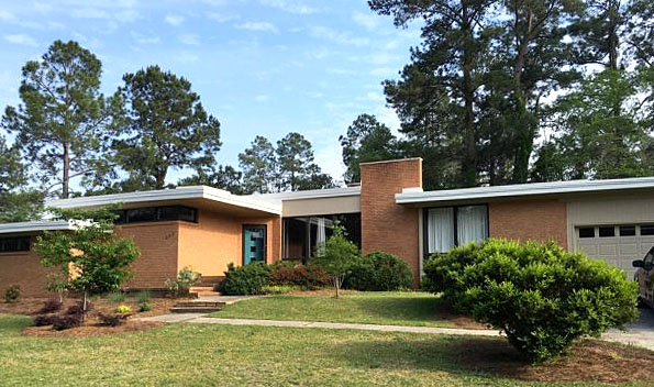 Planting Your Mid Century Modern House