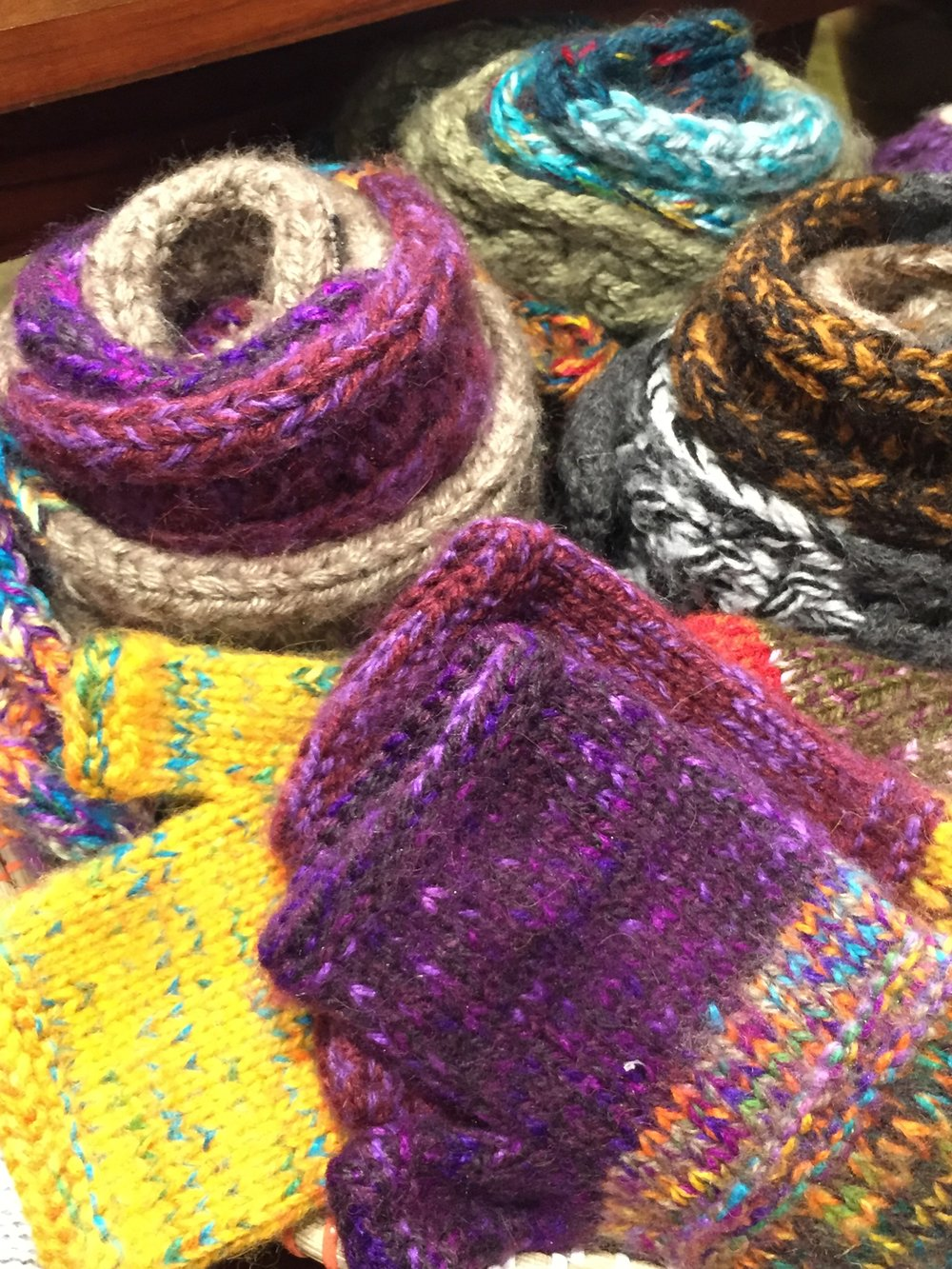 Hand-Knit, Fair Trade Winter Accessories by Andes Gifts