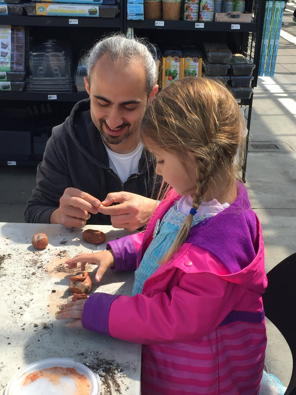 Seed bombs for mom on Mother's Day