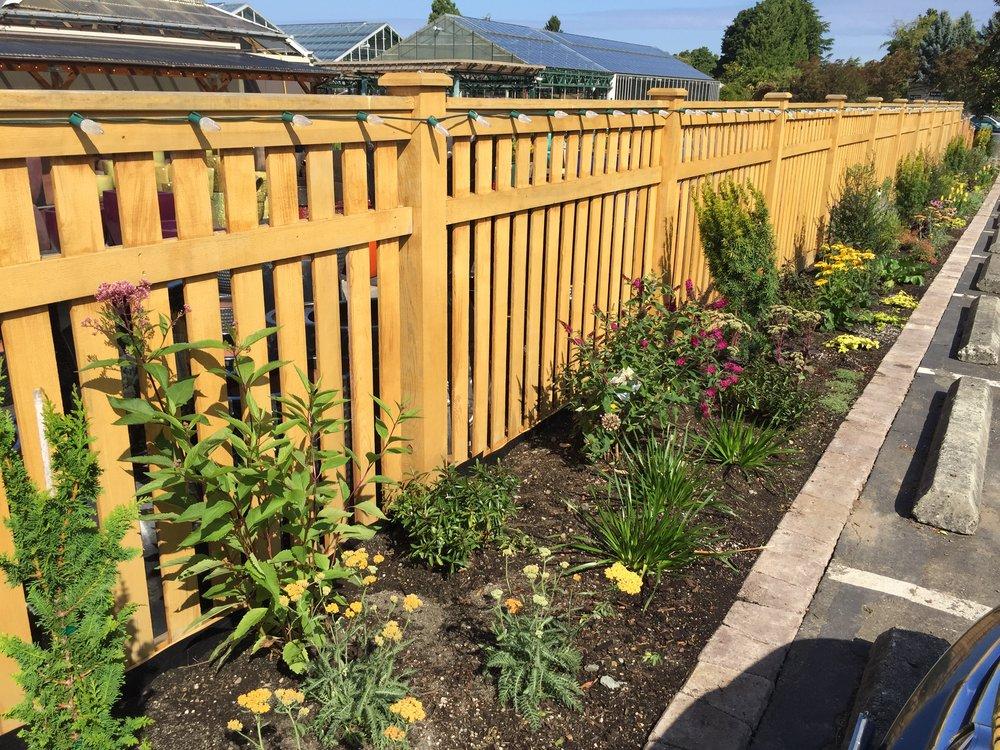 Swansons' new Pollinator Garden